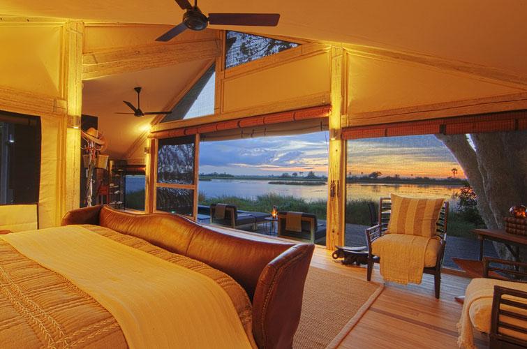 Abu Camp Okavango Delta Botswana