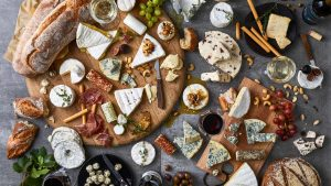 Fairview wineries cheese platter