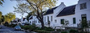 Tulbagh church street outer Cape Winelands
