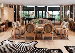Saxon Hotel Platinum Suite Johannesburg