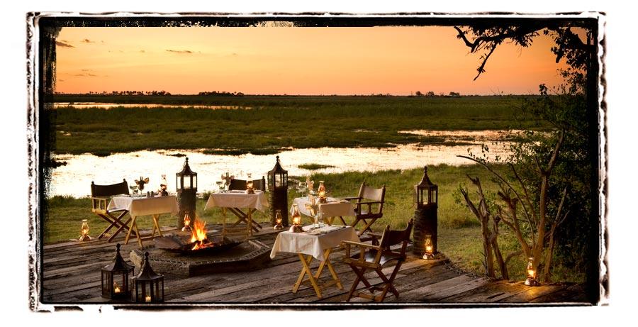 Zarafa Camp Selinda Botswana