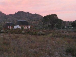 pakhuis trail hut cederberg mountains