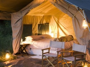 Chobe Under Canvas tents Botswana