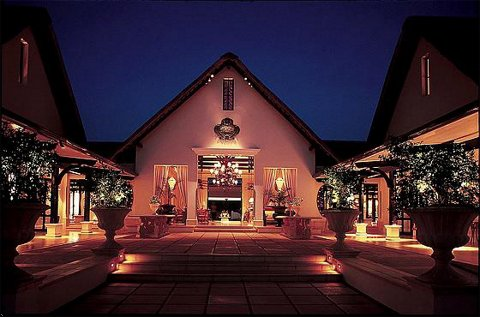 Royal livingstone luxury hotel Victoria Falls.