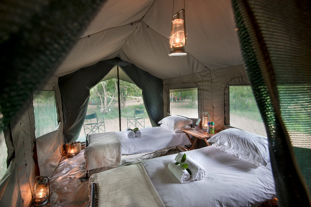 walking safari tents